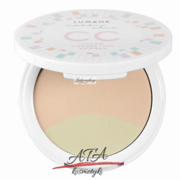 LUMENE – NORDIC CHIC COLOR CORRECTING POWDER Korygujący puder do twarzy nr 3, 8g