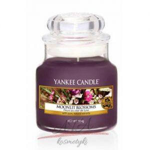 Yankee Candle MOONLIT BLOSSOMS Świeca zapachowa słoik mały 104g