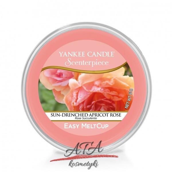 Yankee Candle SUN-DRENCHED APRICOT ROSE Scenterpiece Easy MeltCup Wosk do kominka elektrycznego 61 g