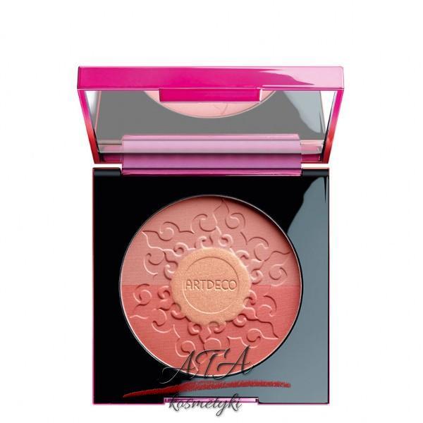 Artdeco – kolekcja Make Up Your Sunset Stories – Bronzing Blush – trójkolorowy róż do policzków