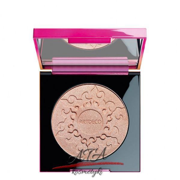 Artdeco – kolekcja Make Up Your Sunset Stories – Glow Bronzer – puder brązujący z drobinkami
