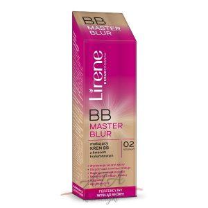 Lirene BB MASTER BLUR Matujący krem BB z kwasem hialuronowym 02 naturalny 40 ml