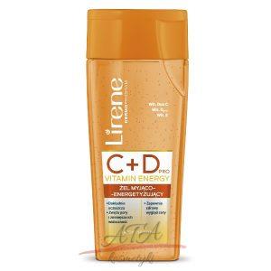 Lirene C+D VITAMIN ENERGY Żel myjąco-energizujący 200 ml