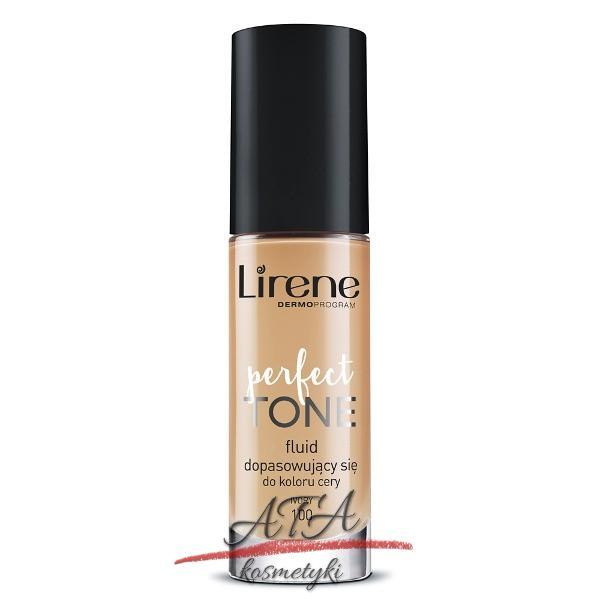 Lirene PERFECT TONE Fluid dopasowujący się do koloru cery IVORY 100, 30 ml
