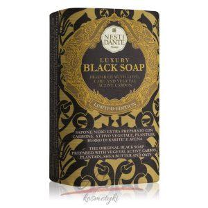 Nesti Dante LUXURY BLACK SOAP Luksusowe mydło naturalne 250 g