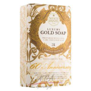 Nesti Dante LUXURY GOLD SOAP Luksusowe mydło naturalne 250 g