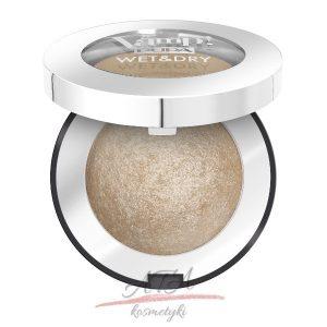 Pupa - Vamp! Wet & Dry Eyeshadow - wypiekany cień do powiek - 100 Champagne Gold