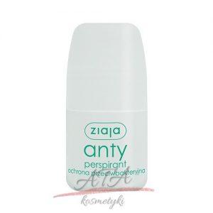 Ziaja - ANTYPERSPIRANT - antybakteryjny roll-on - dezodorant w kulce - 60 ml