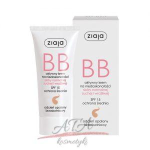 Ziaja - BB krem do skóry normalnej, suchej i wrażliwej - opalony - 50 ml