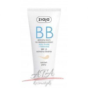 Ziaja - BB krem do skóry tłustej i mieszanej - jasny - 50 ml
