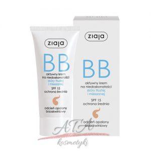 Ziaja - BB krem do skóry tłustej i mieszanej - opalony - 50 ml