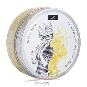 LaQ - Wash & Scrub - peeling myjący - banan