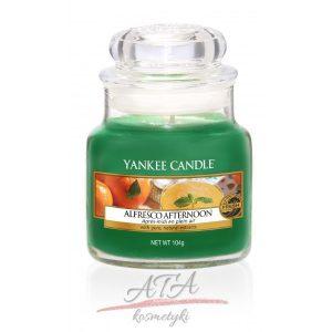 Yankee Candle ALFRESCO AFTERNOON Świeca zapachowa słoik mały 104g