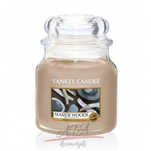 Yankee Candle SEASIDE WOODS Świeca zapachowa słoik średni 411g