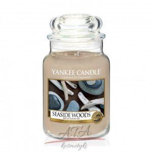 Yankee Candle SEASIDE WOODS Świeca zapachowa słoik duży 623 g