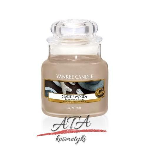 Yankee Candle SEASIDE WOODS Świeca zapachowa słoik mały 104g