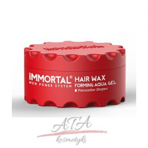 IMMORTAL HAIR WAX FORMING AQUA GEL Pomada wodna 150 ml