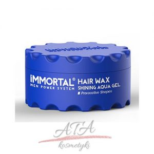 IMMORTAL HAIR WAX SHINING AQUA GEL Pomada wodna 150 ml