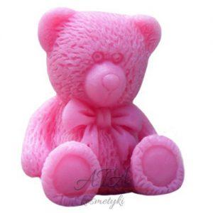 LaQ - mydło - mały miś - różowy