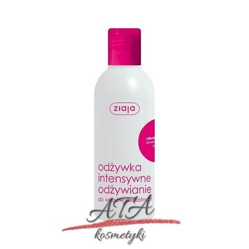 Ziaja – odżywka intensywne odżywianie dla włosów delikatnych – 200 ml