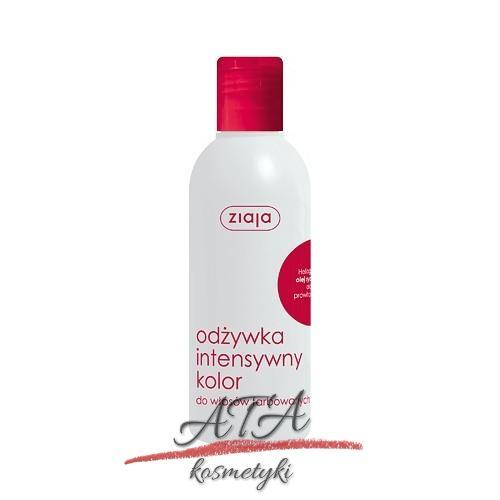 Ziaja – odżywka intensywny kolor dla włosów farbowanych – 200 ml