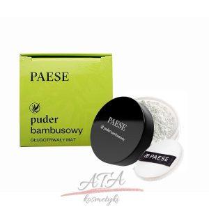 PAESE BAMBOO LOOSE POWDER Puder sypki bambusowy 5g